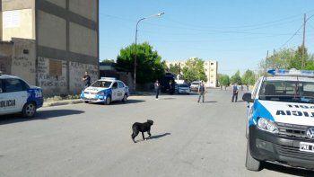 Se realizaron allanamientos sin resultados en barrio 450 Viviendas.