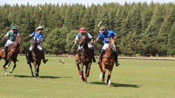 comenzo hoy el campeonato de polo de la expo rural de neuquen