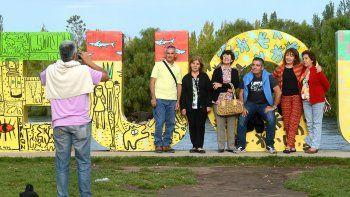 En la primera quincena, cada turista gastó unos 1700 por día.