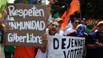 en venezuela la marcha es para votar