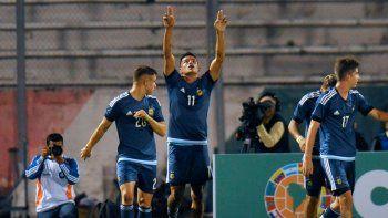 Argentina goleó a Bolivia