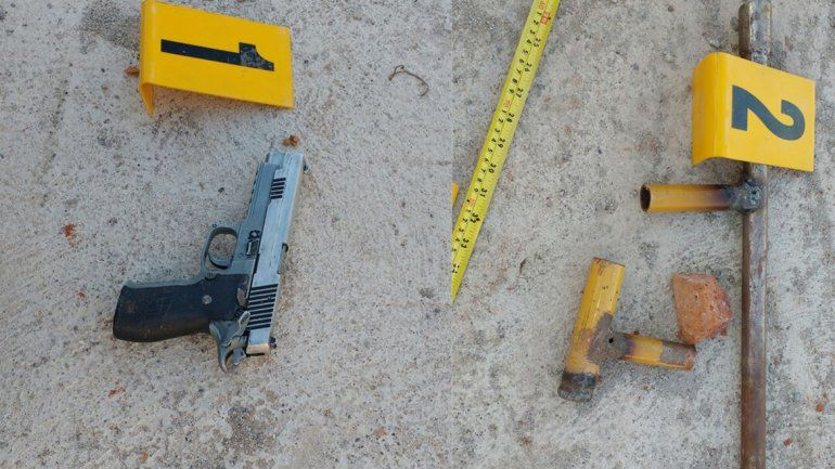 Detuvieron a cuatro jóvenes y secuestraron una réplica de arma y una tumbera