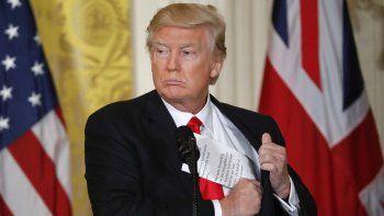 Trump: Los medios me tergiversan