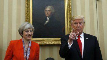 Más de medio millón de británicos no quieren a Trump en su país