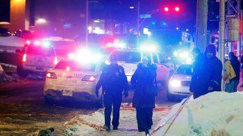 Al menos 6 muertos por un ataque en una mezquita en Quebec