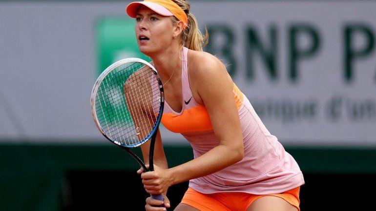 A los 32 años se retiró del tenis María Sharapova