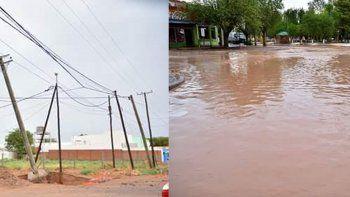 La tormenta inundó las casas y los comercios en Rincón