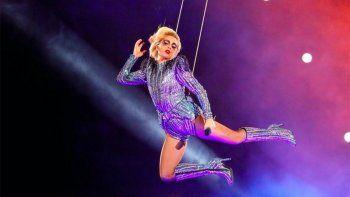 Lady Gaga hizo delirar a los fans del Super Bowl con todos sus éxitos