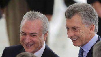 Macri: Hay que dar un impulso al Mercosur