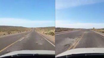 Malestar por el pésimo estado de la Ruta 17 en cercanías a Picún Leufú