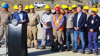 Gutiérrez recorrió junto a Macri el aeropuerto Chapelco: las obras finalizarán en agosto