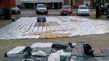 Secuestraron 2.600 kilos de marihuana en Córdoba