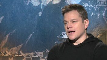 Matt Damon se animó a cantar cumbia y la rompió