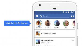 Ahora también se pueden hacer historias en Facebook