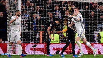El Real Madrid comenzó perdiendo pero lo dio vuelta y ganó 3-1.