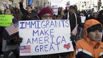 como fue la protesta del dia sin inmigrantes en estados unidos