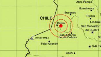 un sismo de gran magnitud sacudio el norte del pais
