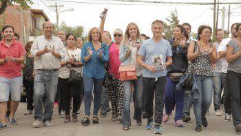 Timbreo en Neuquén: Bermúdez y Schleret recorrieron Valentina Sur