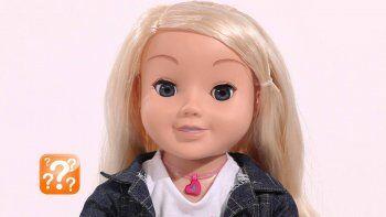 Prohíben venta de una muñeca por riesgo de  espionaje