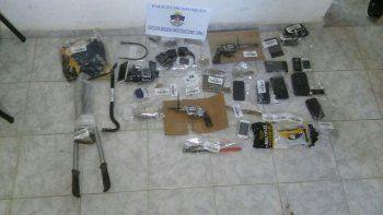 dos ladrones detenidos por el robo al repartidor y a la panaderia