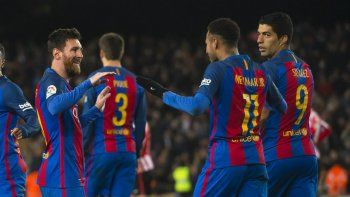 Messi lo hizo: dos goles para salvar a Barcelona