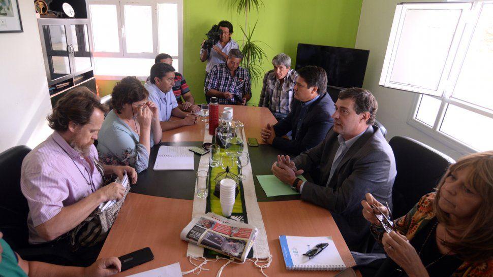 El ministro Mariano Gaido y los representantes del gremio docente se volverán a ver las caras hoy.