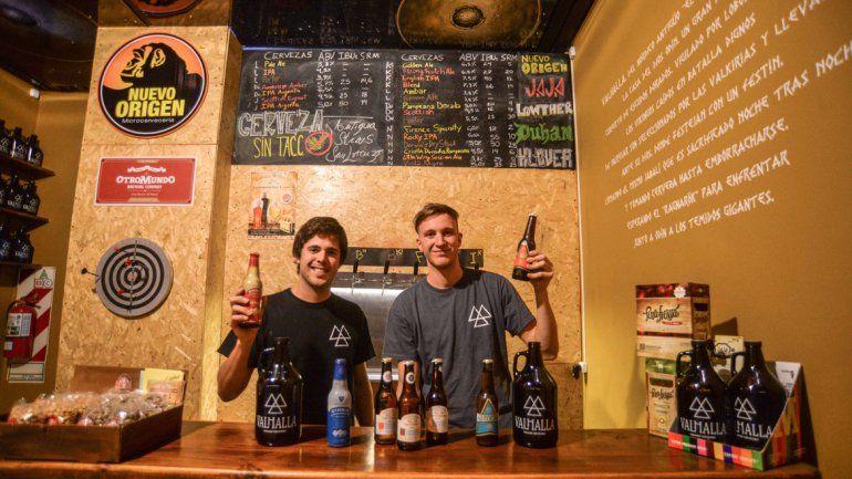 El local de calle Salta hace furor con la propuesta de la cerveza para celíacos.