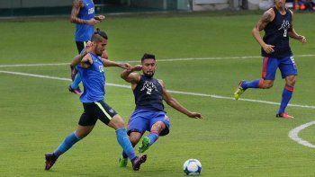 Benítez convirtió en los dos amistosos que jugó con Boca.