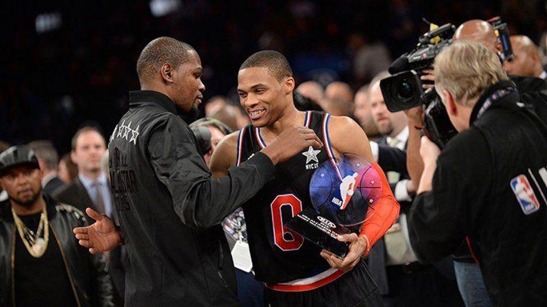 Con una lucida combinación de Durant y Westbrook