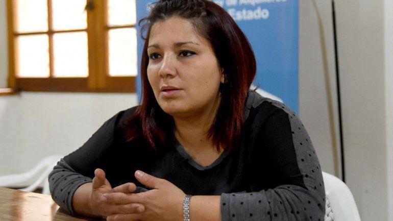 Pamela Gaita, titular de la Unión de Inquilinos Neuquinos.