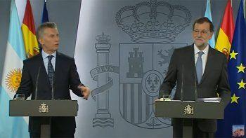 Rajoy a Macri: La Argentina ahora es un país en marcha