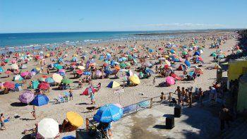 Las altas temperaturas de estos días motivaron la llegada de más turistas.