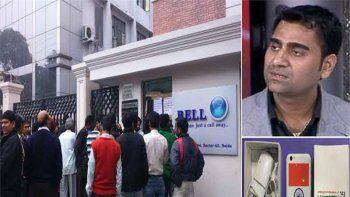 Mohit Gohel es el director de la compañía Ringing Bells, la fabricante del telefonito en cuestión. Lo detuvieron por las denuncias de estafas.