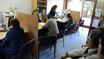 El área de asesoramiento informa a los ciudadanos sobre sus derechos.