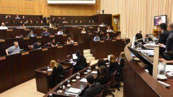 La Legislatura hizo la previa al discurso de Gutiérrez del miércoles.