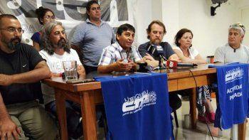 Los dirigentes de CTA anunciaron la protesta desde el lunes 6.