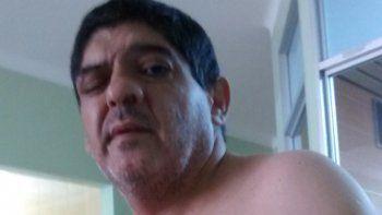 Héctor Montecino en su última aparición antes de morir de cáncer.