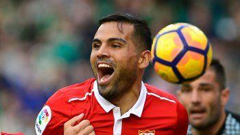 El ex River anotó en el triunfo del Sevilla. En la Juve, el Pipa fue titular.