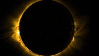 en directo: asi se desarrolla el eclipse de sol anular