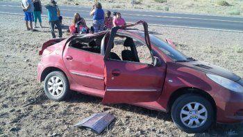 cinco heridos en un accidente ocurrido sobre la ruta 22