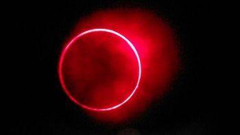 termino el eclipse solar: asi fue el anillo de fuego