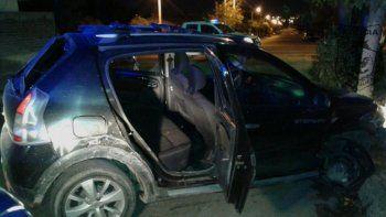 El Renault Sandero Stepway robado por los pibes fue recuperado.