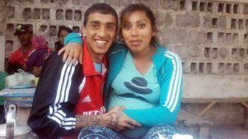 Herrera y su novia Andrea, a quien asesinó en la cárcel el último 5 de enero.