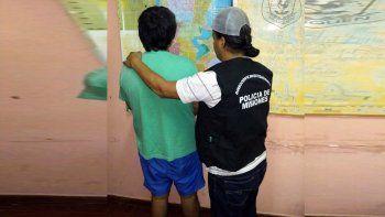 Un condenado por violar a su hija fue atrapado en Misiones