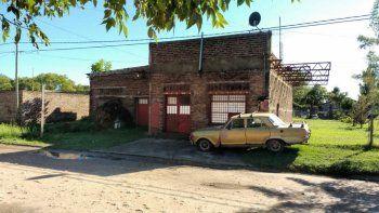 El frente de la casa de José Martín Duarte, donde apareció muerto sin que le faltara ninguna de sus pertenencias.