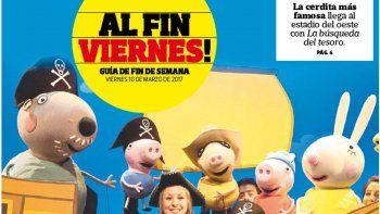Peppa Pig: de la tele a copar el Ruca Che