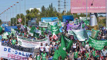 neuquen fue una de las provincias mas conflictiva del pais en el primer trimestre