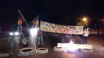 vista alegre: otro piquete de vecinos en contra del fracking