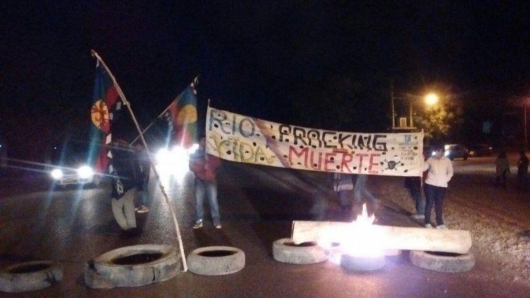 Vista Alegre: vecinos cortaron la Ruta 7 en contra del fracking