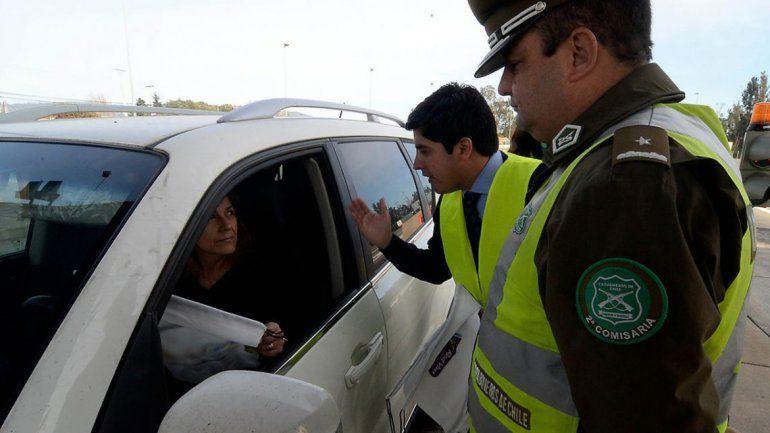Chile: Multas de hasta 12 mil pesos para los argentinos que no tengan la verificación técnica al día